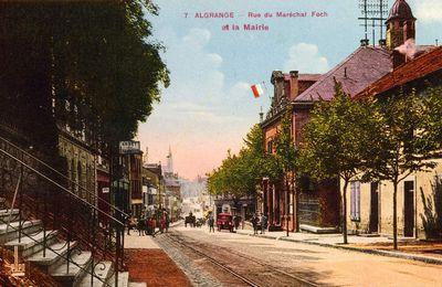Le quartier de la mairie d'Algrange à travers le temps...