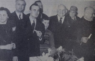 Installation du pasteur Robert HEILMANN en 1963 à Algrange
