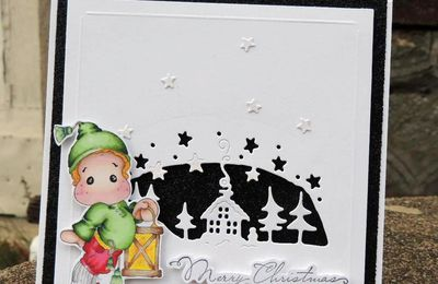 "Carte ""merry christmas"""