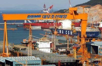 Corée du Sud : crise des chantiers navals