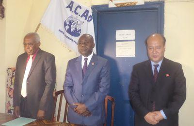 Le Président Kim Il-sung honoré par le Parti congolais du travail