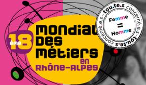 Visite au mondial des métiers de Lyon