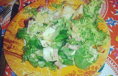 Recette de la salade paysanne de Mamiche