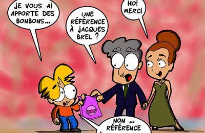 Référence à Jacques Brel ?