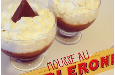 Verrines Mousse de Toblerone ®