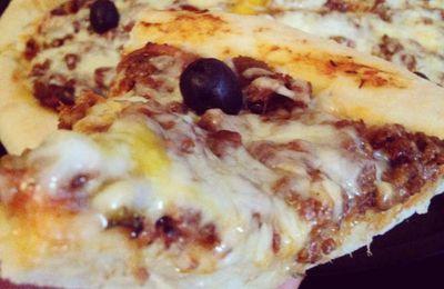 Pizza à la viande hachée façon Dominos Pizza ®