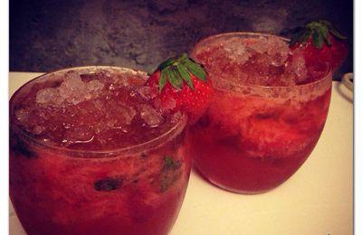 Mojito Fraises ( sans alcool )
