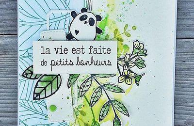 Voir la vie en vert * pour Val *
