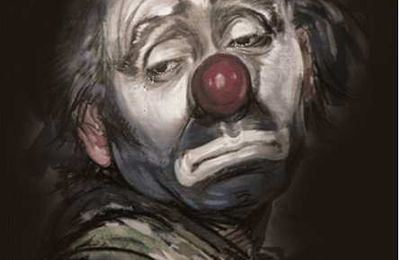 Le clown se meurt . Catherine Smits