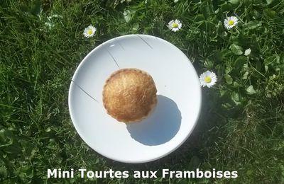 Mini Tourtes aux Framboises