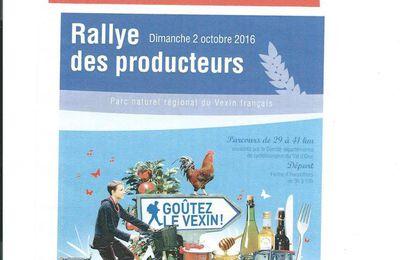 Rallye des Producteurs à vélo - Dimanche 2 octobre