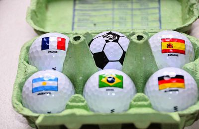 Golf & coupe du monde de foot