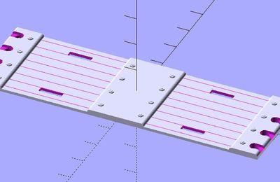 Le retour de la route modulaire... par impression 3D