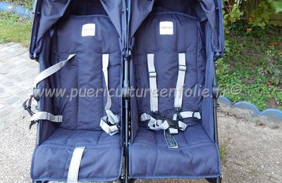 POUSSETTE DOUBLE INGLESINA TWIN SWIFT