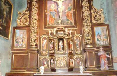 Salviac, retable baroque