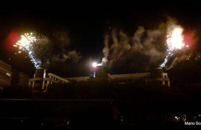Superbe spectacle son et lumière, ce vendredi 4 juin, pour l'inauguration de Bruxelles-les-Bains réunissant les deux rives du canal: Bruxelles et Molenbeek !