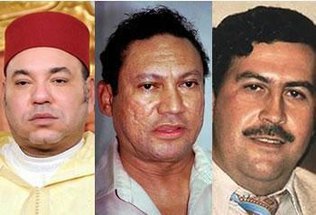 Si la Colombie avait son Escobar, le Panama son Noriega, le Maroc possède Mohammed VI