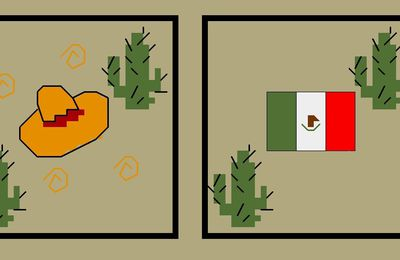 Biscornu du Monde : Le Mexique
