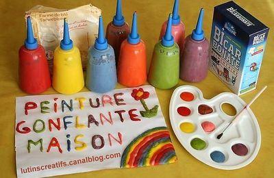 Activité enfant, recette peinture en relief