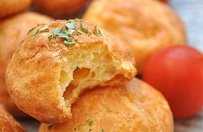 Gougères au fromage & info cuisson et four...