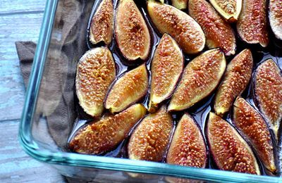 Figues Rôties au miel
