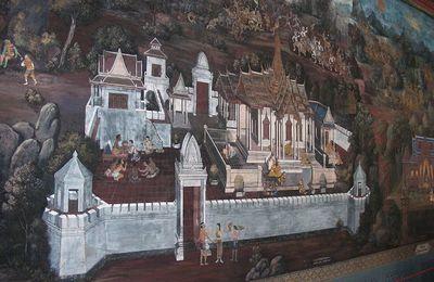 de superbes peintures murales