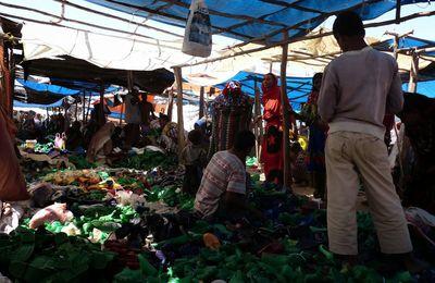 Nord de l'Ethiopie; marché de village
