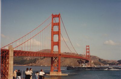 Le golden gate à San Francisco