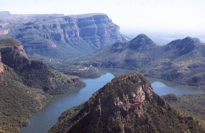 canyon de la Bryde river; un paysage fabuleux;