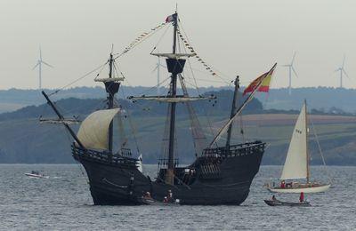 Douarnenez 2016; grands voiliers