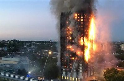 Londres: L'effroyable bilan de l'incendie de la Grenfell tower serait de plus de 500 morts (Press TV)