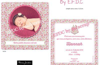 Nouveauté pour les petites filles disponible au catalogue naissance