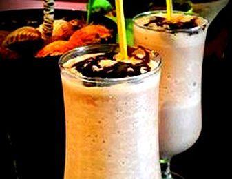 milkshake au chocolat  ميلك شيك الشكلاط
