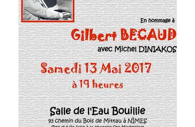 Michel Diniakos chante Gilbert Becaud