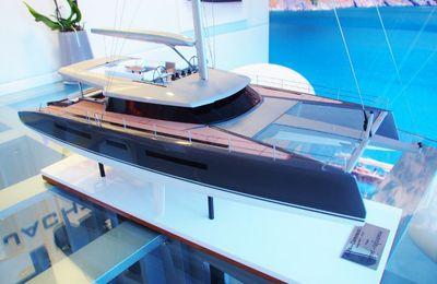 MYS - Berret-Racoupeau signe un projet de yacht catamaran à dérives pivotantes pour Holland Jachtbouw