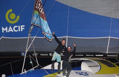 François Gabart et Pascal Bidégorry remportent la Transat Jacques Vabre en Ultime