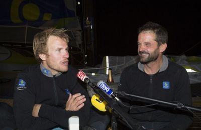Transat Jacques Vabre - François Gabart partage sa joie de remporter la course