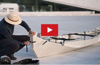 VIDEO Innovation - Onak, un canoë... pliable !