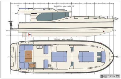 Fluvial - Le Boat complète sa gamme Horizon avec le futur Horizon 1350