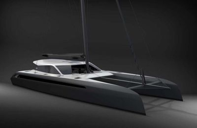 Premiers visuels du futur catamaran Gunboat 68