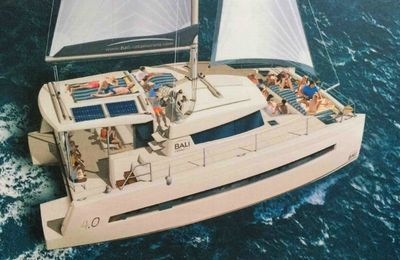 Comment le Bali 4.0 Day Charter change les codes du marché des catamarans day charter
