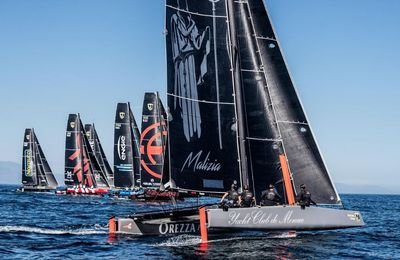 Les catamarans à foils GC32 en vedette à Monaco, du 11 au 13 novembre