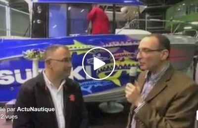 Salon de la Pêche en Mer - Suzuki dévoile le look de son Barracuda 8 engagé dans le Barracuda Tour 2017