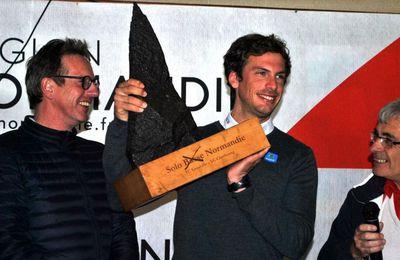Charlie Dalin remporte la 8ème Solo Normandie !
