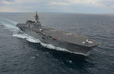Le Japon envoie son plus gros navire de guerre au large de la Corée