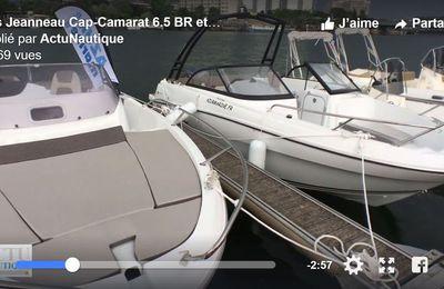 Boat en Seine 2017 - Des jeanneau Cap-Camarat 6.5 BR et 6.5 WA à essayer ce week-end, à Paris
