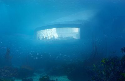 Le premier restaurant sous-marin d'Europe sera norvégien