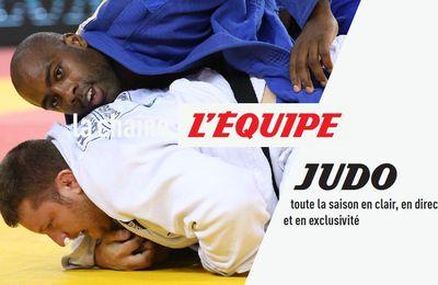 [Droits TV] Toute la saison de Judo à suivre en clair sur la chaîne L'Équipe !
