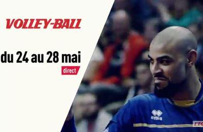 [Infos TV] Volley - L'équipe de France de volley de retour sur la chaîne L'Équipe !
