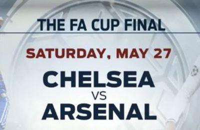 [Infos TV] Foot - La Finale de la FA Cup Arsenal / Chelsea en direct ce samedi sur beIN SPORTS 1 !